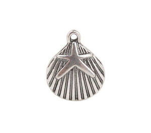 50PCS-Antiqued-Silver-Starfish-Shell-Charms-92241