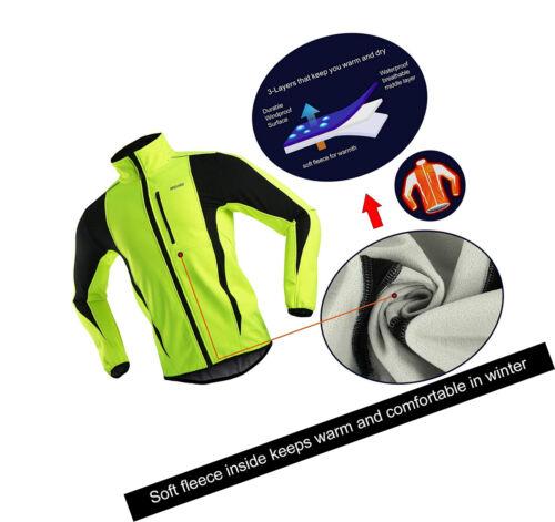 Cyclisme Veste de vélo VTT vêtir Équipement de sécurité imperméable Tissue Vert