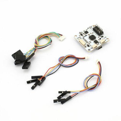 Novo OpenPilot CC3D 32 Bits Controlador De Voo Para Mini vários rotores QAV250 Branco