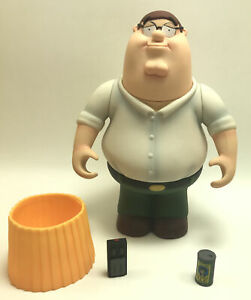 RARE 2004 Mezco Family Guy Peter Griffin (6 Inches Tall) Figure