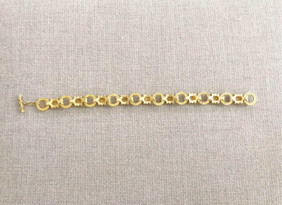 CHANEL Necklace Claire Deve Vintage Used From Jap… - image 3