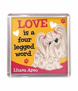 Lhasa-Apso-Love-is-Cute-Fridge-Magnet-Dog-Lovers-Gift-Stocking-Filler