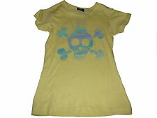 NEU Page one young tolles T-Shirt Gr. 134 / 140 gelb mit coolem Druckmotiv !!