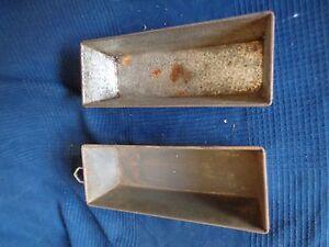 Lote-2-Molde-Plato-para-Pasteles-Vintage-de-Metal-de-Limpiar-o-de-Personalizar