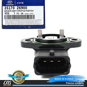 Genuine Throttle Position Sensor For 06 11 Hyundai Accent Kia Rio Oem 3517026900 Ebay