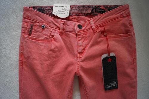 DEPT Denim Department  SCORPIO Skinny Jeans W 28-32  L34 Stretch rosa  NEU
