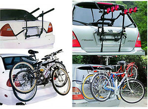 2-amp-3-CYCLE-CARRIER-CAR-RACK-BIKE-BICYCLE-UNIVERSAL-REAR-MOUNTED-FITTING-ESTATE