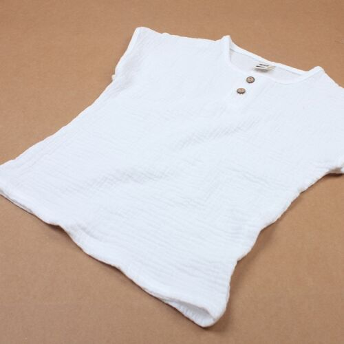 Linen 2018 Cotton Baby Boy Girl Summer T Shirts New Toddler Comfortable Tops