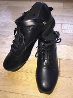 Hard Irish Dance Shoes Jig - Genuine Hand Made Leather - Flexi Suede Sole