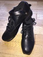 Hard Irish Dance Shoes Jig - Genuine Hand Made Leather - Flexi Suede Sole