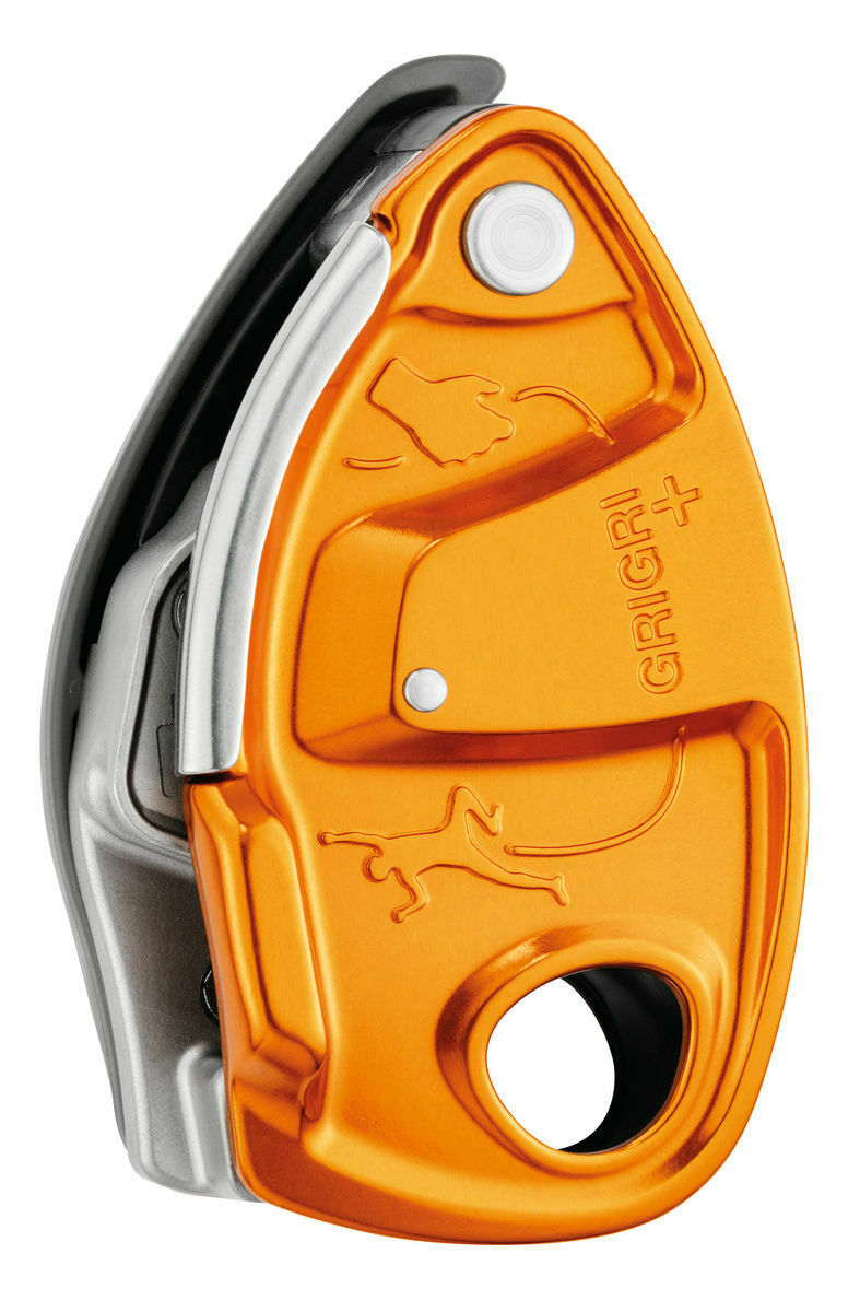Petzl Grigri + Belay Dispositivo con Asistido Frenado y Anti-panic Mango para