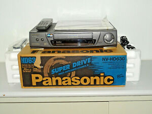 Panasonic NV-HD630 VHS-Videorecorder in OVP inkl. FB&BDA, 2 Jahre Garantie