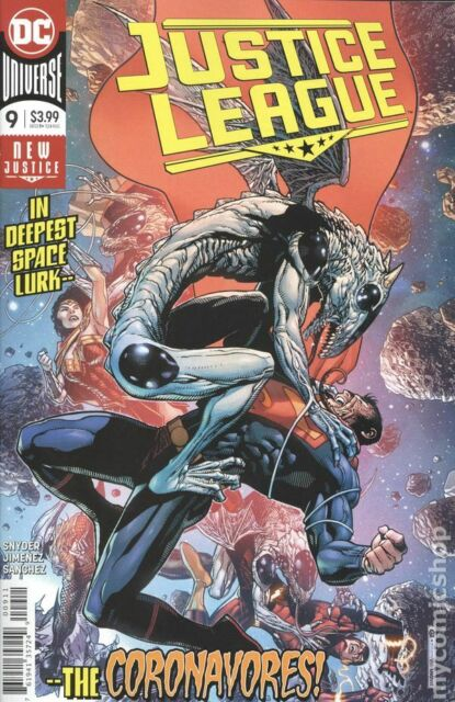Justice League #9 DC Comic 1st Print unread NM