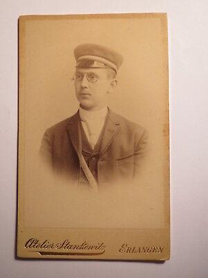 Würzburg - Corps Makaria - Ss 1892 - August Heim - Cdv / Studentika