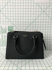 9108c3ac07 NWT Kate Spade New York Lise Mulberry Street Satchel Crossbody Black ...