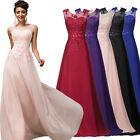 Abendkleider Ballkleider Partykleid Brautjungfernkleid Lang Gr. 42 44 46 48 50++