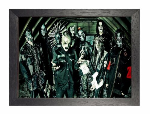 Slipknot 24 American Heavy Metal Band Poster Corey Taylor Scary Creepy Photo