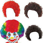 CHILDRENS KIDS CURLY AFRO POP CLOWN WIG FANCY DRESS COSTUME ACCESSORY