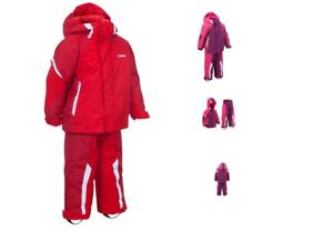 WEDZE BABY TODDLER GIRLS 3 IN 1 THERMAL WATERPROOF SKI   SNOW SUIT ... 86f4d2ade