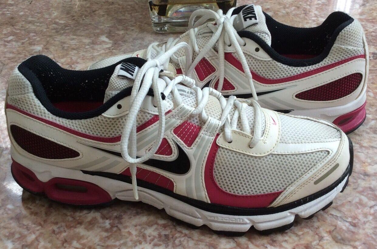 Nike Air Moto 8 Women's Pink White Running Training Shoes Size 10.5