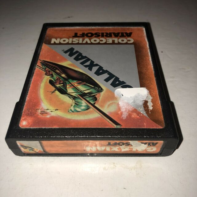 Galaxian ColecoVision Game by Atarisoft Rare Title Tested! Works! HTF Coleco Fun