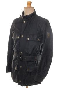 VINTAGE-BELSTAFF-TRIALMASTER-PROFESSIONAL-WAX-JACKET-36-92cm-S-MADE-IN-ENGLAND