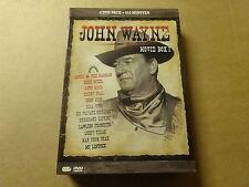 4-DISC DVD BOX / JOHN WAYNE MOVIE BOX 1: ANGEL & THE BADMAN, BLUE STEEL, DAWN ..