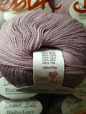 Debbie Bliss Rialto Lace shade 30 Iris