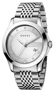 gucci 126 4. image is loading gucci-ya126404-men-039-s-126-4-series- gucci 126 4 t