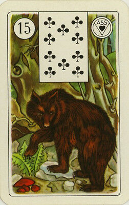 Single Vintage Lenormand Fortune Telling Card: #15