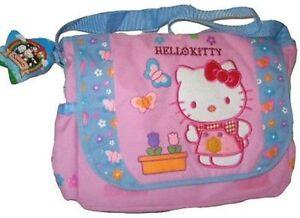 dc10cfcfeaa3 Image is loading Hello-Kitty-Messenger-diaper-bag-shoulder-tote-handbag-