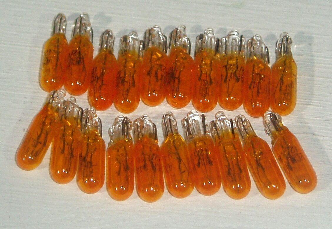 20 x SMALL 5mm YELLOW FRUIT MACHINE BULBS