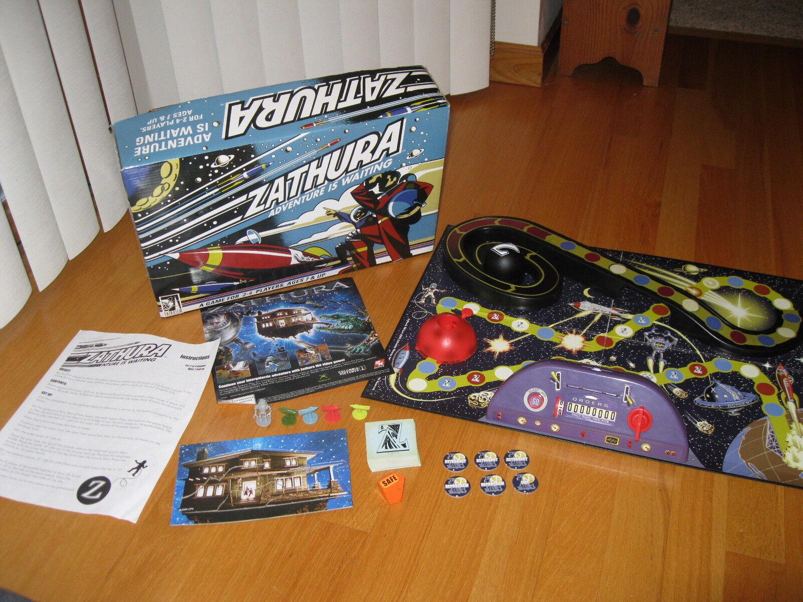 Zathura  Adventure Is Waiting Board Game 2005 Pressman