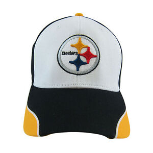 NFL-Pittsburgh-Steelers-Embroidered-Adjustable-Hat-Cap-One-Size-Fit-All