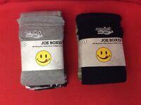 Joe Boxer Men's S-2xl Camo Sleep Short Gray Or Black Camo 3-piece Set