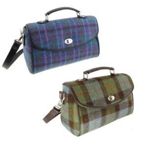 Harris Appin Viola Tweed a colore rimovibile a tracolla 'calder' Tartan e Cinturino colore 15 Gunn regolabile Borsa quadri 51 Glen XFTdYX