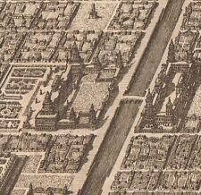 Gravure XVIIIe Babylone Babel Irak Mesopotamia Mésopotamie Irak
