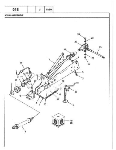 New Holland Round Baler 644 Parts Manual