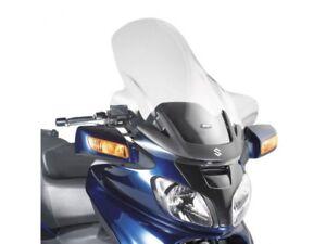 D257st - Givi Parabrezza Trasparente 80x72 Cm Suzuki An 650 Burgman Executive Artisanat D'Art