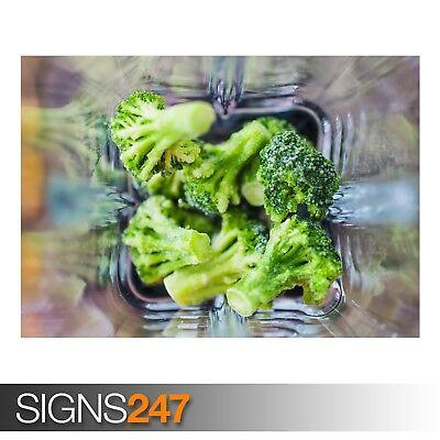 Brillante Cavoli Broccoli (ae756) - Photo Foto Poster Arte Stampa A0 A1 A2 A3 A4- Buon Sapore