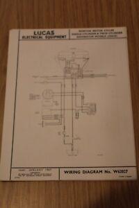 norton single \u0026 twin cylinder dominator 1954 55 original lucas
