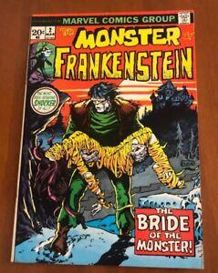 MONSTER-OF-FRANKENSTEIN-2-THE-BRIDE-OF-THE-MONSTER-1973-MARVEL-COMICS