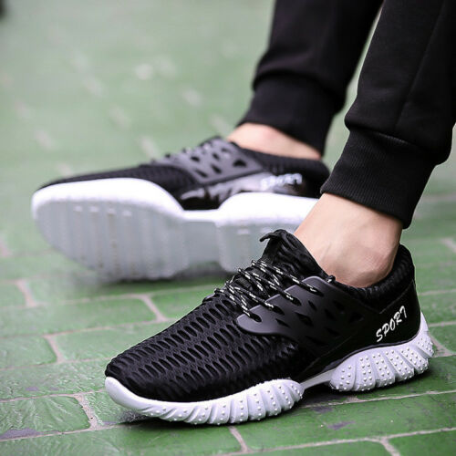Men/'s Athletic Sneakers Trainers Running Gym Tennis Walking Casual Sport Shoes