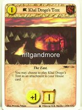 A Game of Thrones LCG - 1x Khal Drogo's Tent  #T130 - Westeros Draft Pack