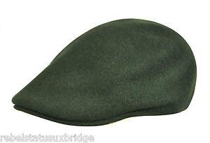 Details about KANGOL Hat 507 Wool Flat Cap K0875FA Winter Ivy Foliage Green  Sizes  M e14fe932e87