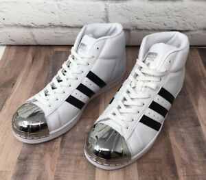 wholesale dealer 7c6e3 d9bfd Sz Adidas White Bb2131 Toe Womens Originals 5 7 Shoes black Promodel Metal  gz71gq