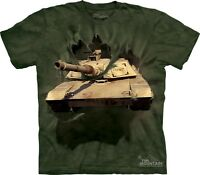 THE MOUNTAIN M1 ABRAMS TANK BREAKTHROUGH ARMY MILITARY SOLDIER T TEE SHIRT S-3XL