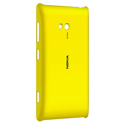 GENUINE NOKIA CC-3064 WIRELESS CHARGING SHELL CASE FOR NOKIA LUMIA 720 IN YELLOW