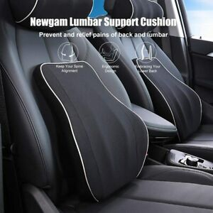 Newgam Lumbar Support Pillow/Back Cushion Memory Foam Orthopedic backrest