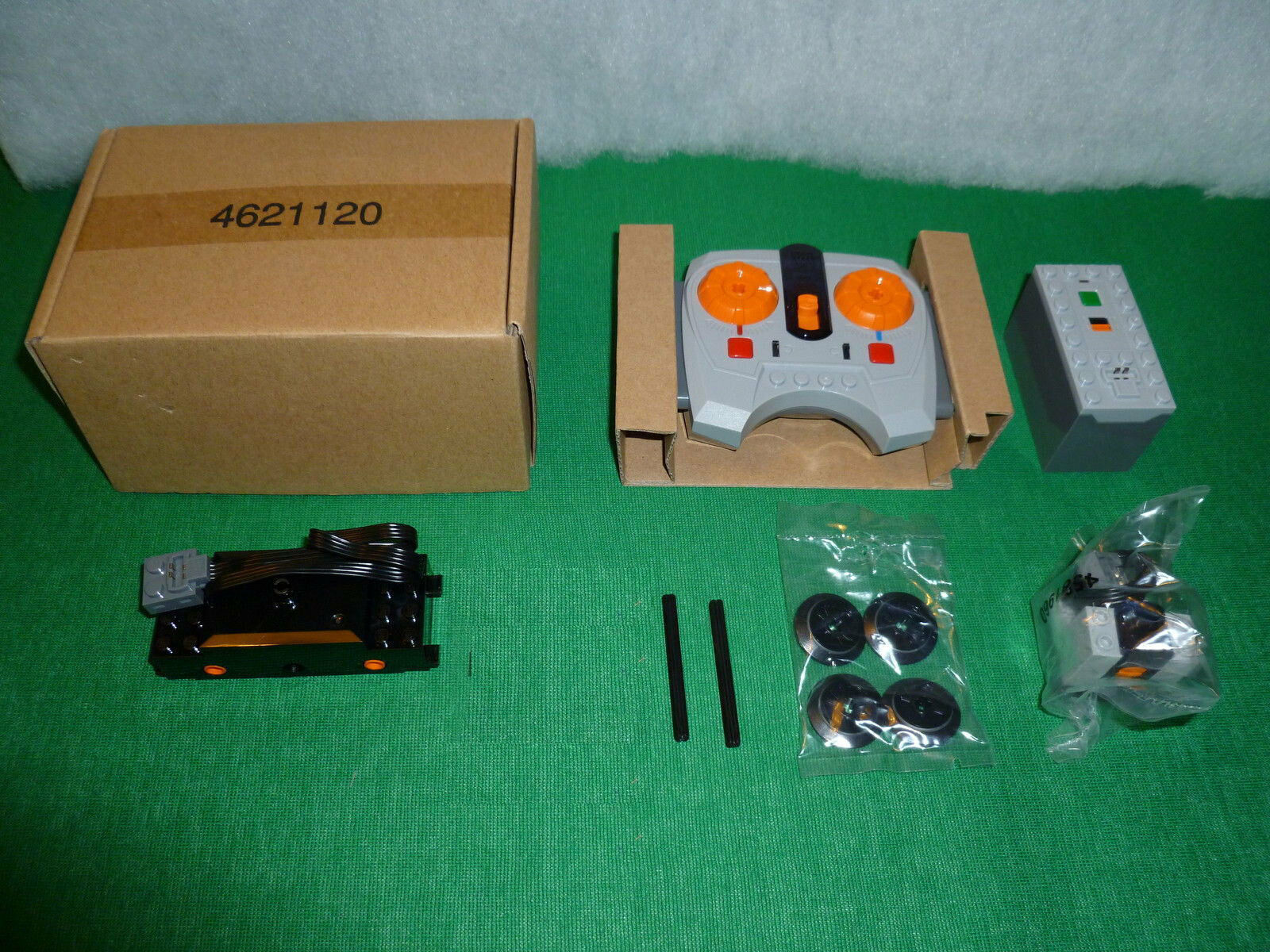 LEGO treno power functions motor kit, 10254 60051 60052 7939 neu